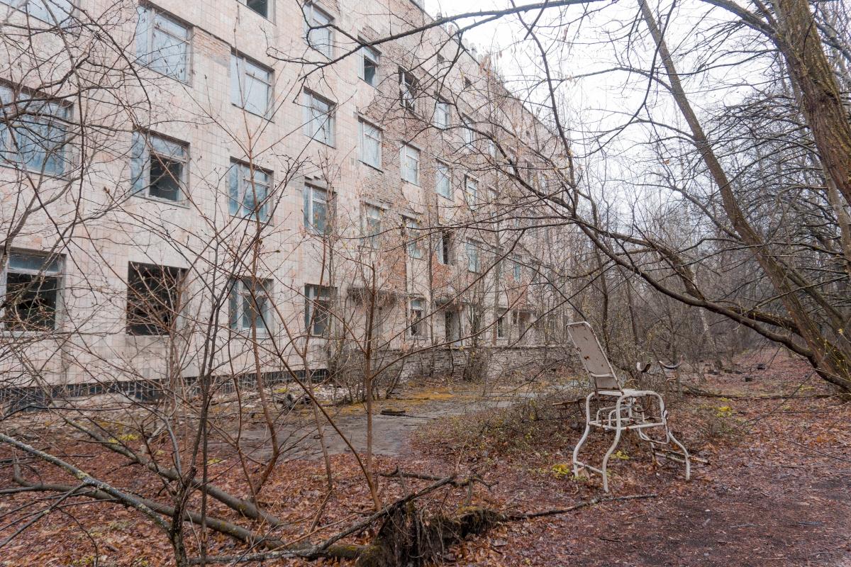 nemocnica v cernoyble