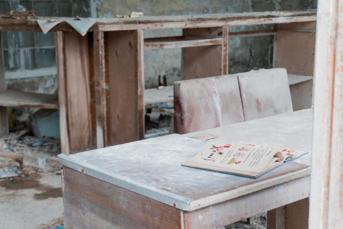 škola v černobyle