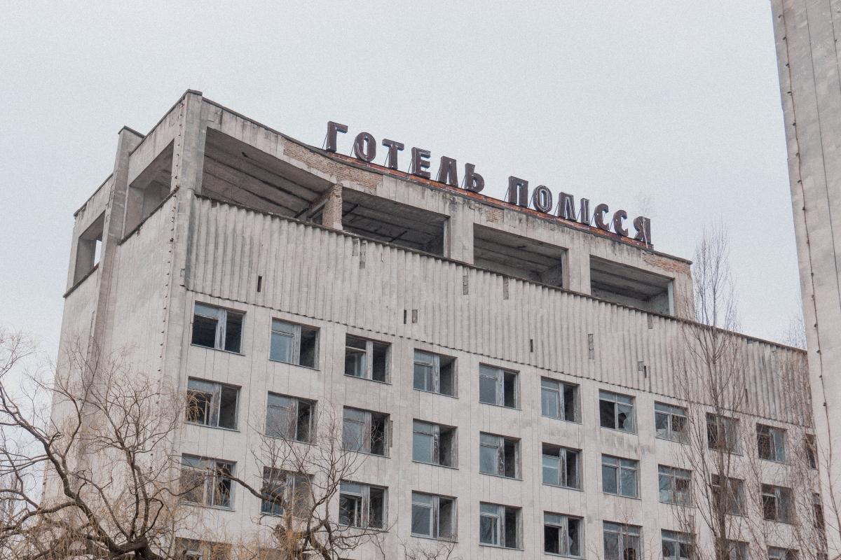 hotel v černobyle