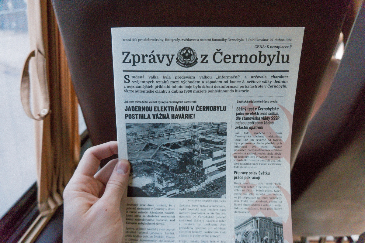 Ako na výlet do Černobyľu krok za krokom & a 3 tipy pre bezpečnosť
