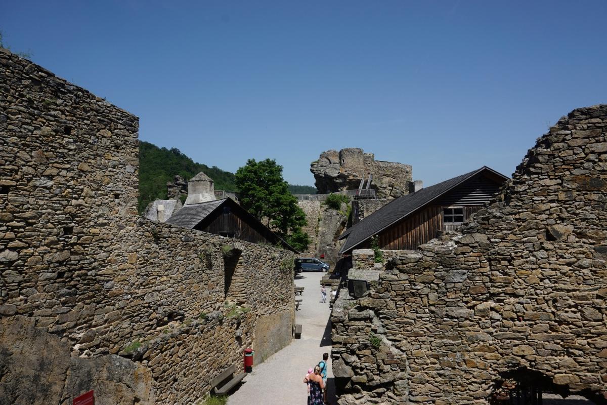 hrad aggstein vo wachau