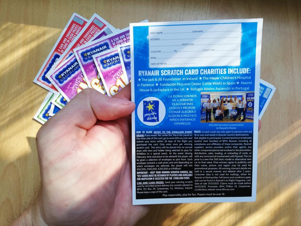 žreby ryanair loterie