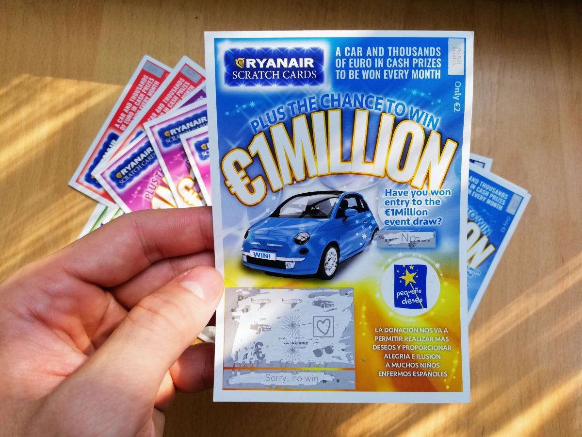 Ako vyhrať Ryanair lotériu a ako funguje? Kúpil som si šťastný žreb