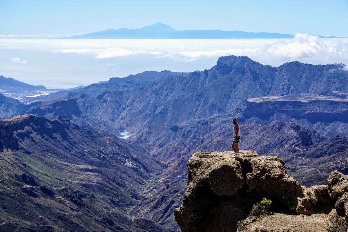 Trekking na Roque Nublo na Gran Canarii