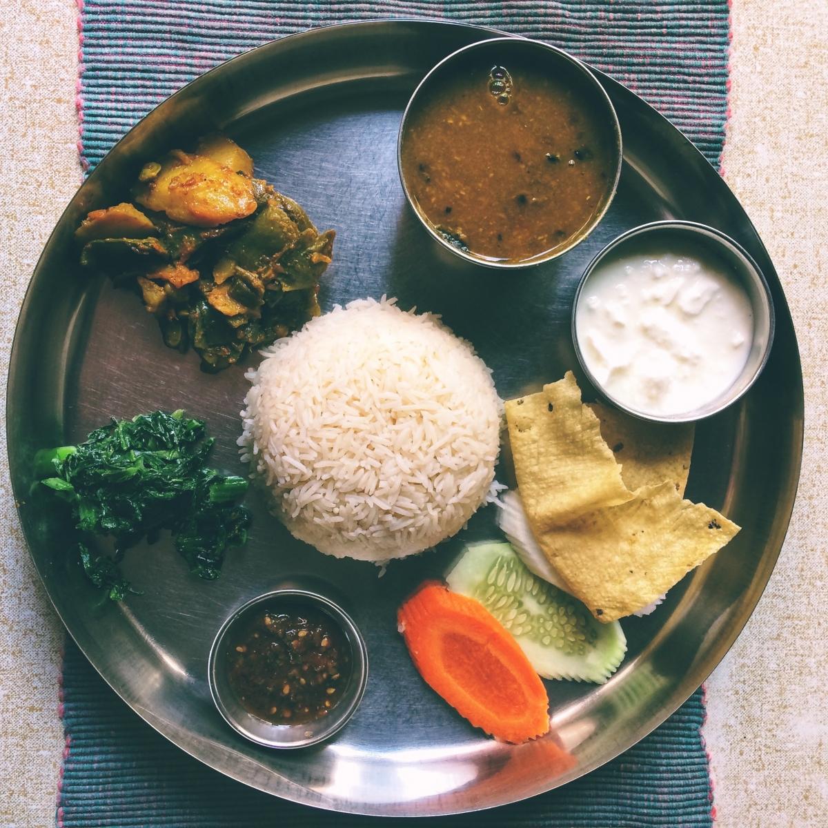 nepálske jedlo