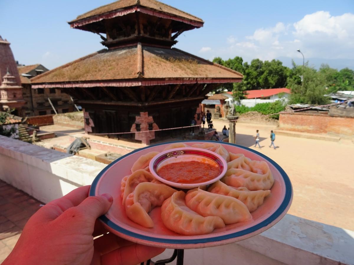 nepálske jedlo momos