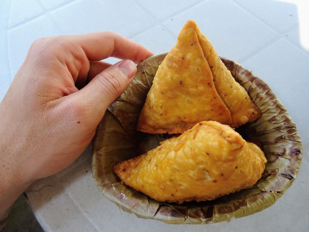 nepálska samosa