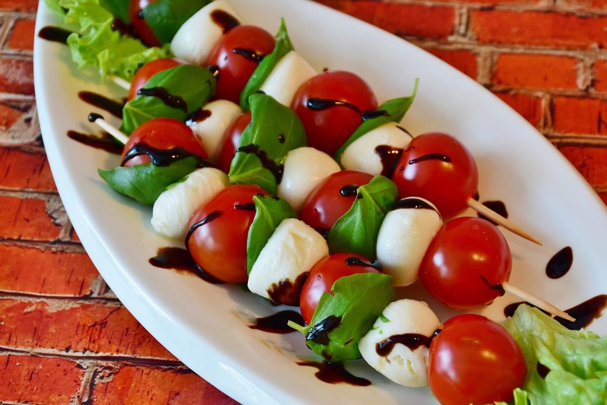 Talianska bazalka s Mozzarellou