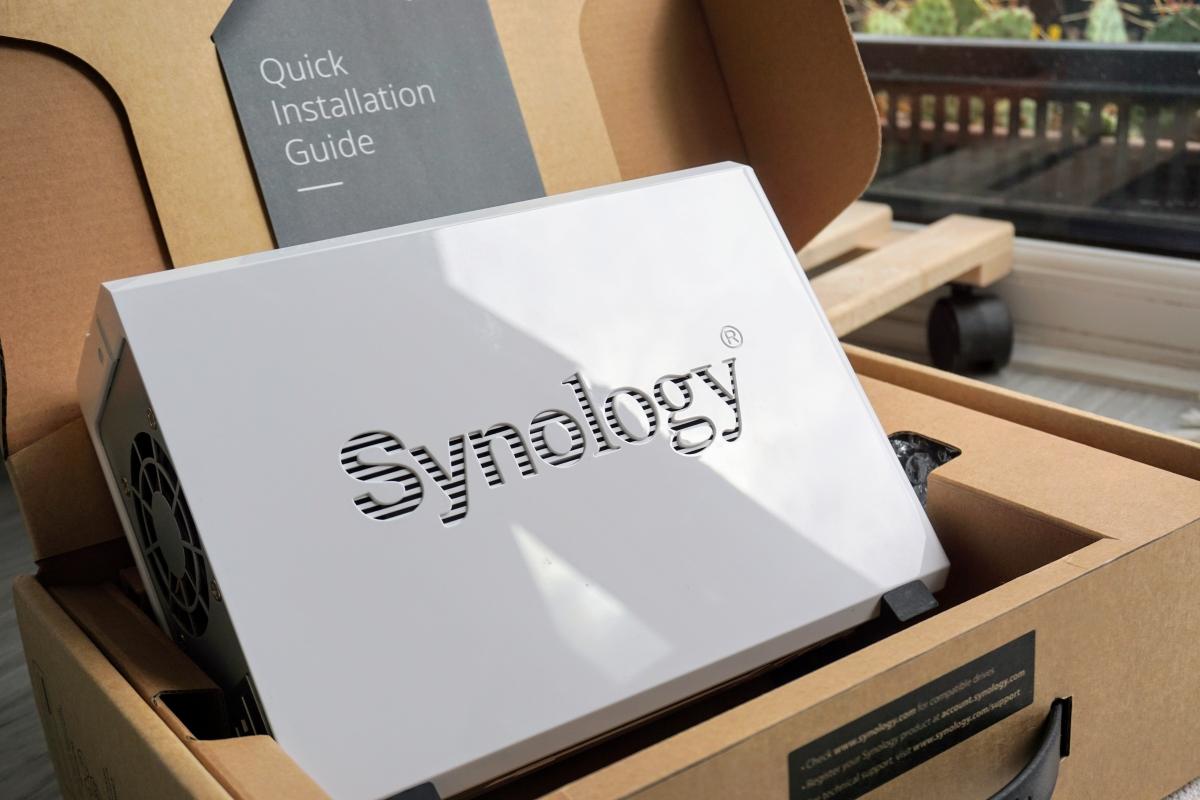 Recenzia Synology DS119j