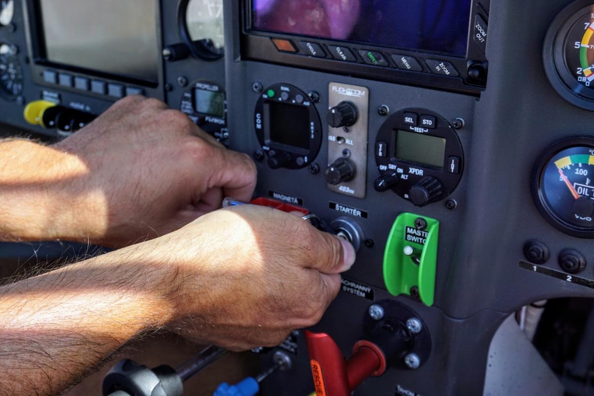 Zážitkový let lietadlom v aeroklube Prievidza