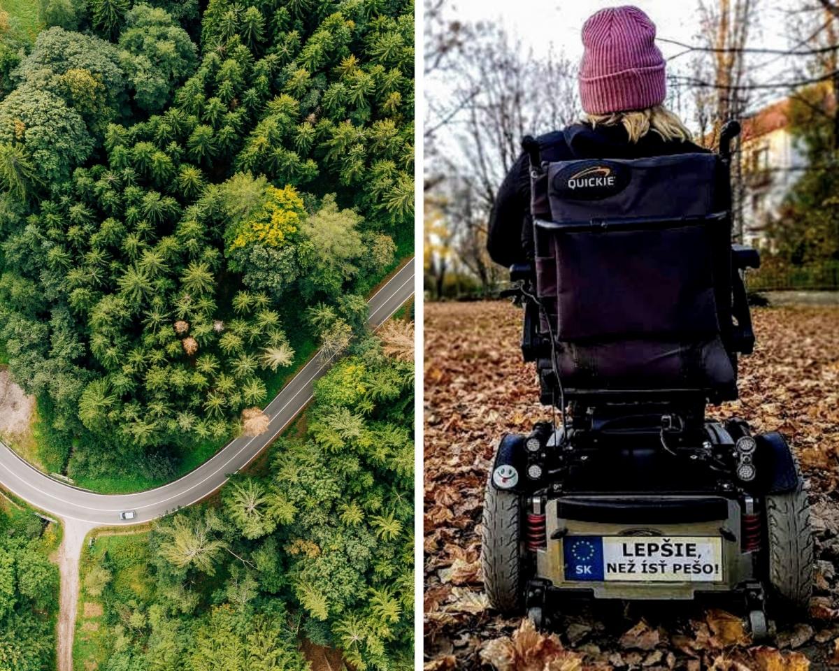 Tipy na bezbariérové turistické chodníky a trasy na Slovensku