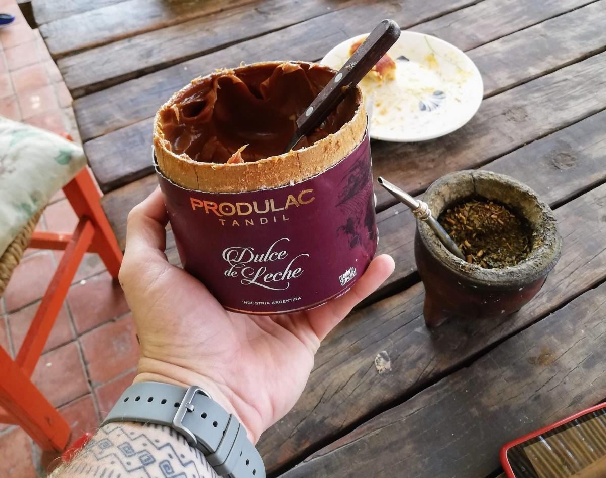 Dulce de Leche ako sladké raňajky v Argentíne