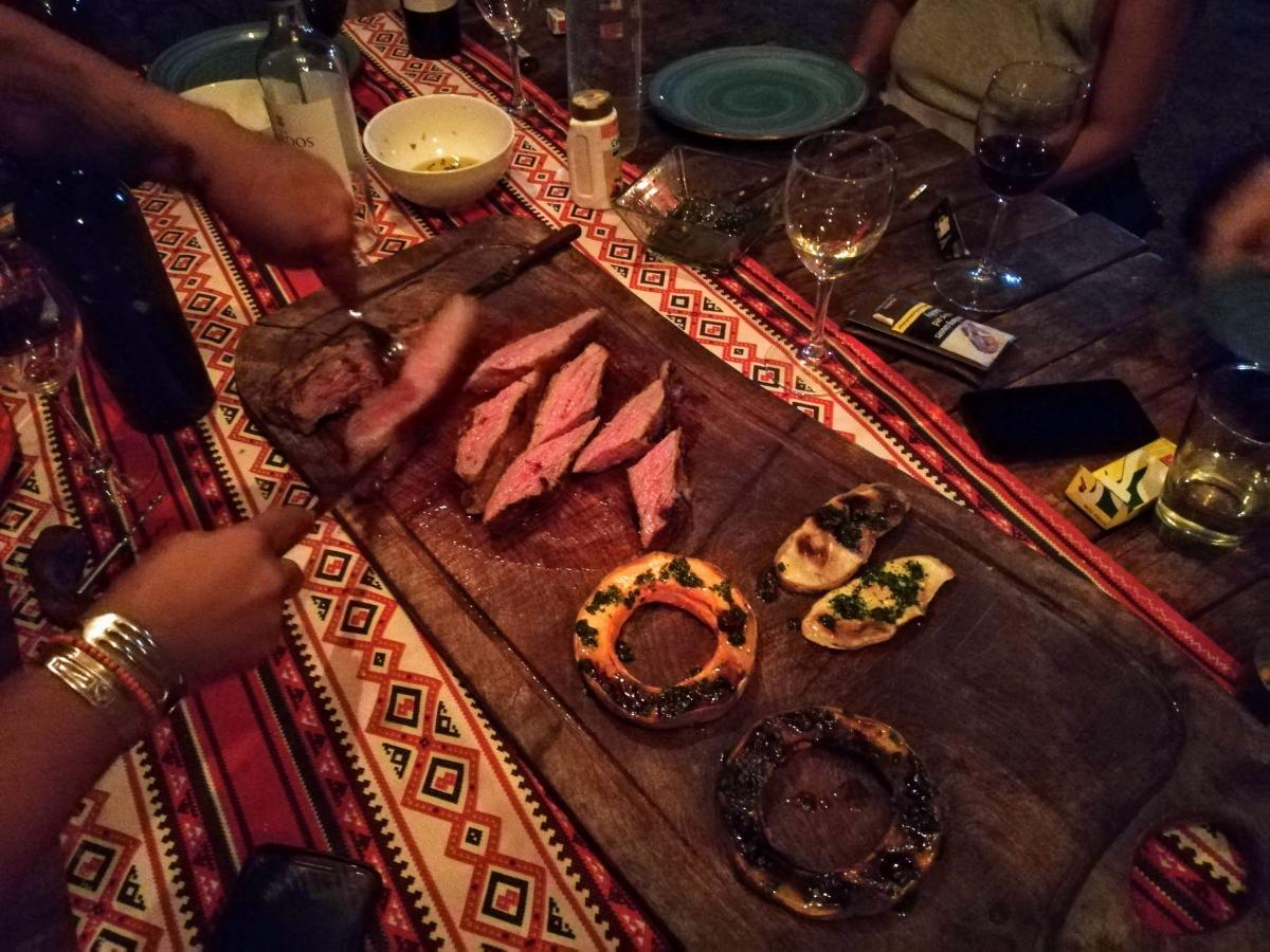 Argentínsky steak, alebo Parilla