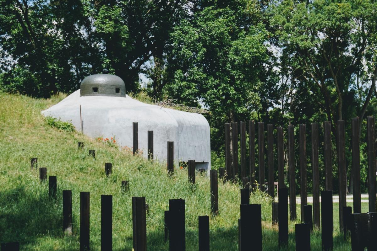 Bunker B-4 Lány a protitanková ochrana