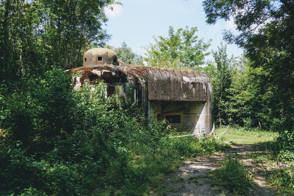 Bratislavský vojenský bunker B-S 3 Paseka.