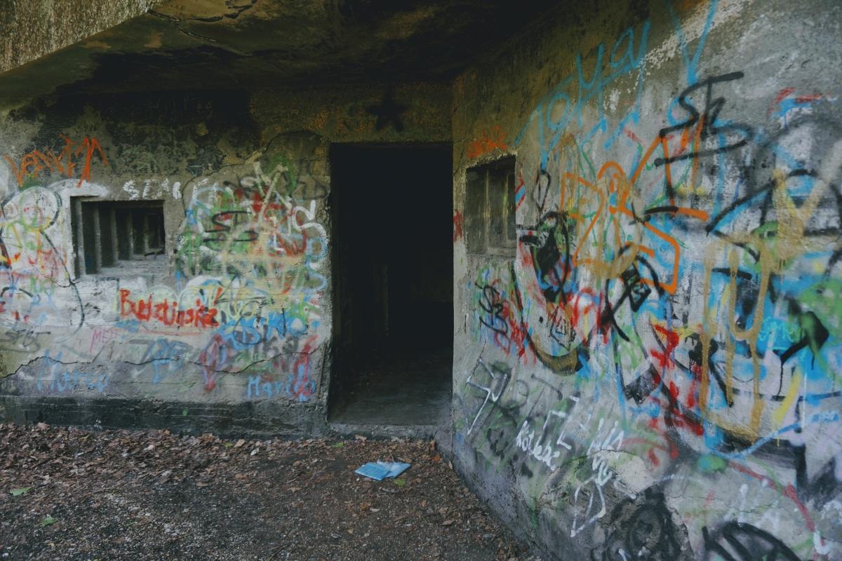 vojenské bunkre v Bratislave