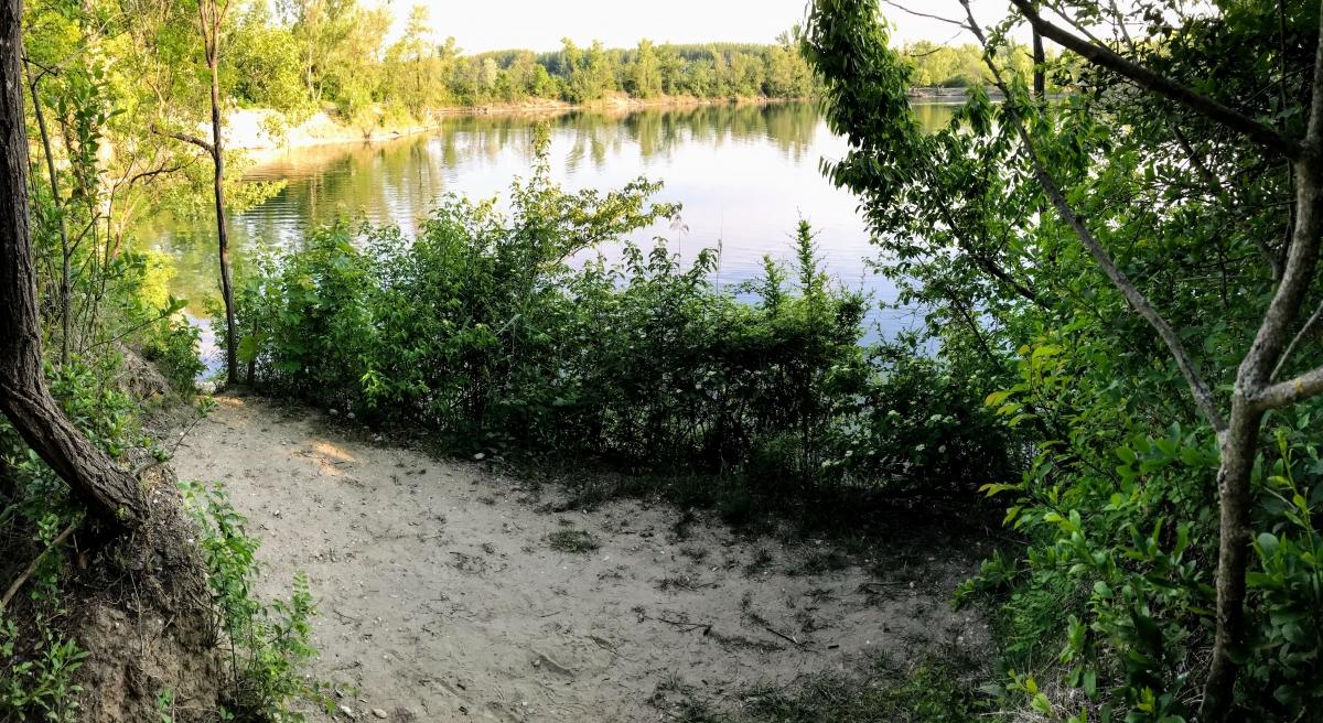 Nudapláž Čunovské jazerá