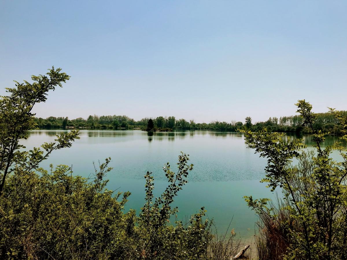 Veľké jazero v Čunove