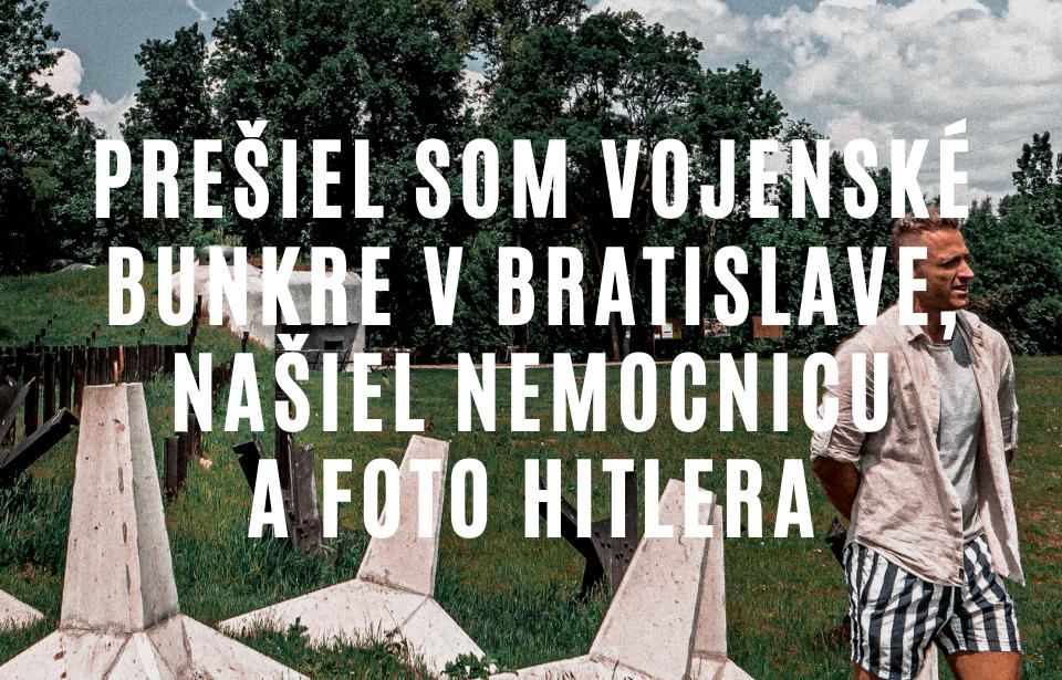 Vojenské bunkre v Bratislave v Petržalke
