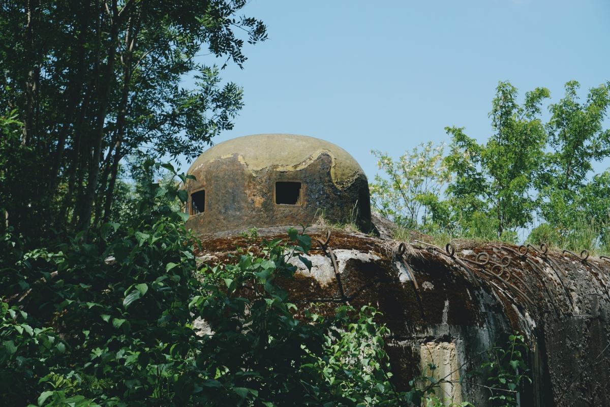 Nezničiteľný oceľový zvon o hrúbke 20 cm chránil zbrane, nie vojakov.