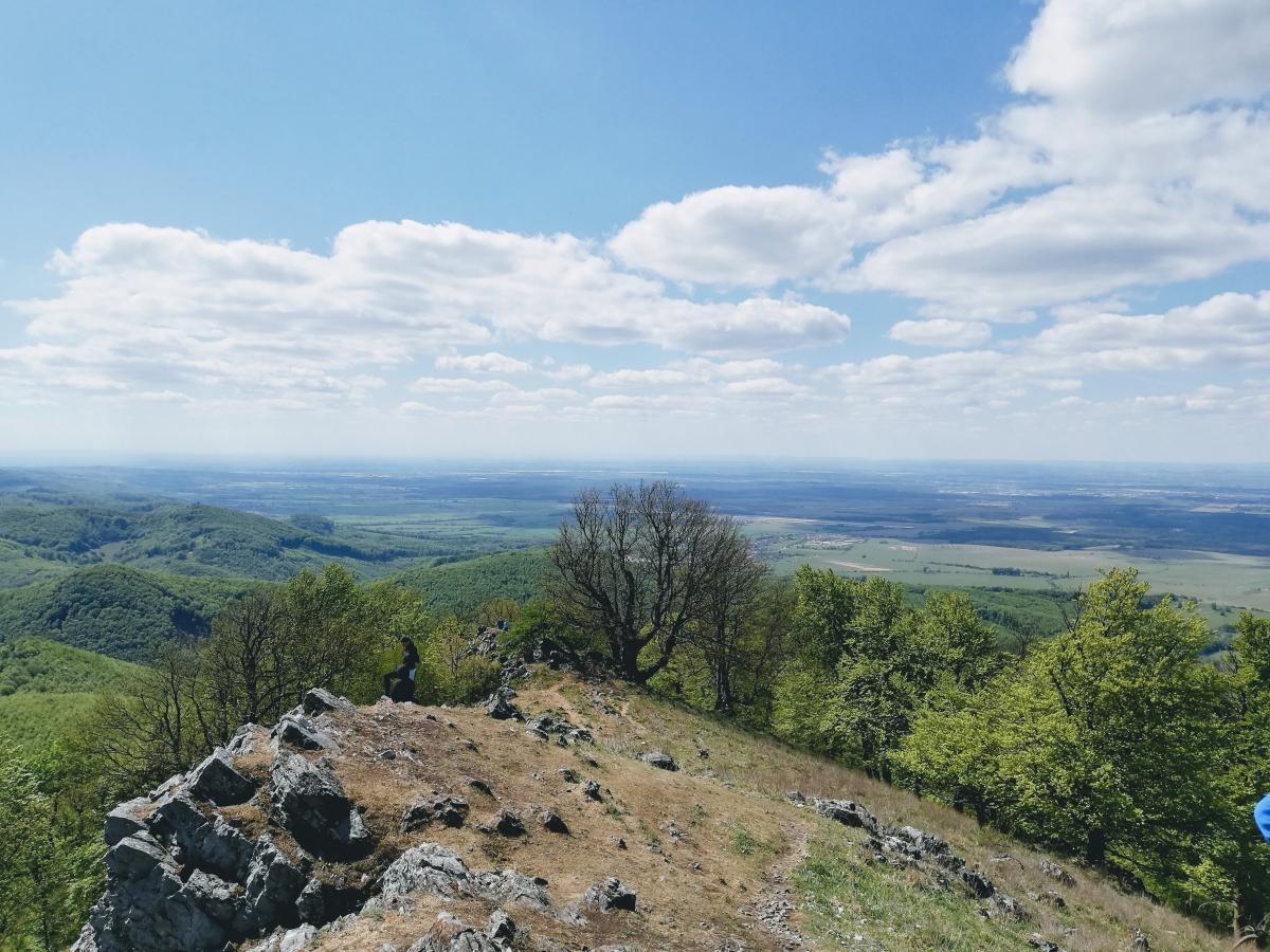 Vyhlad z Vysokej Male Karpaty