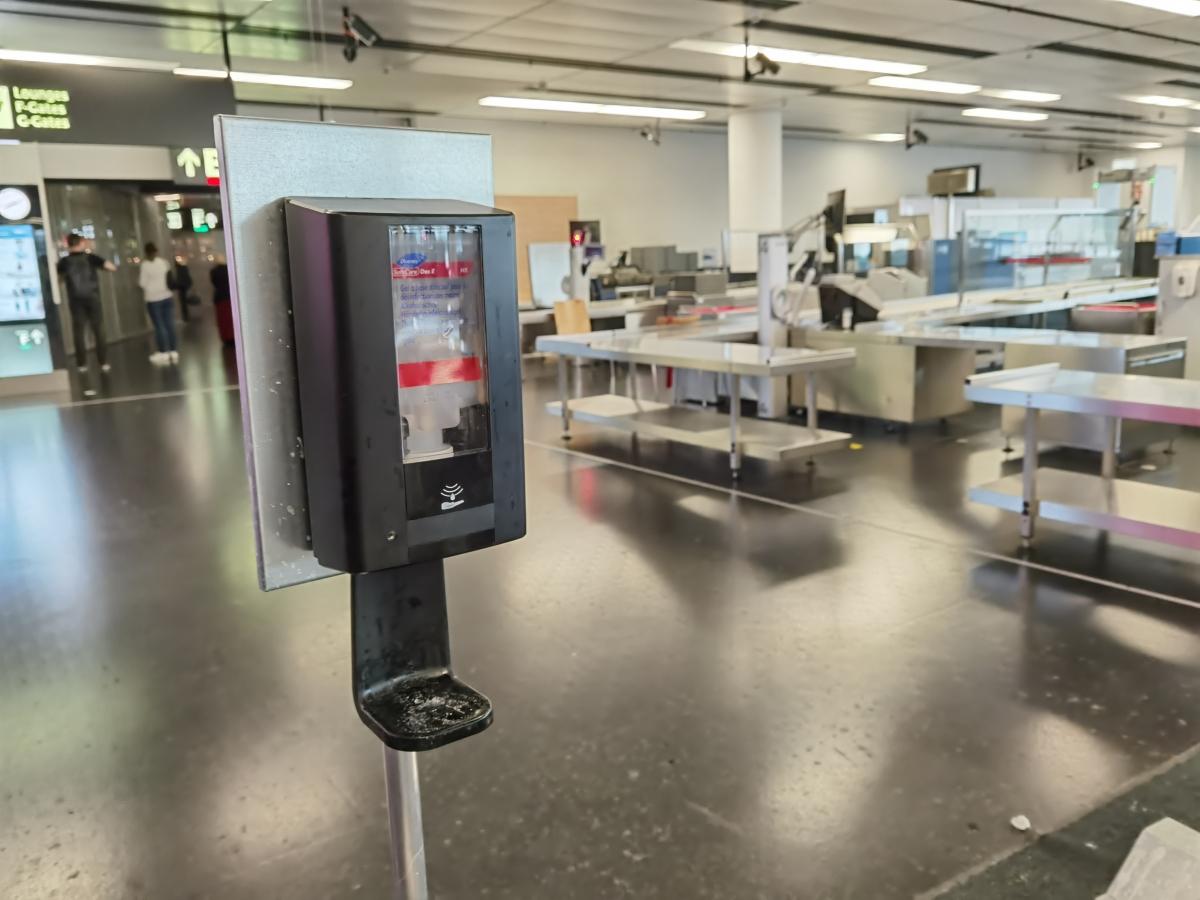 Dezinfekčné opatrenia na viedenskom letisku po koronavíruse