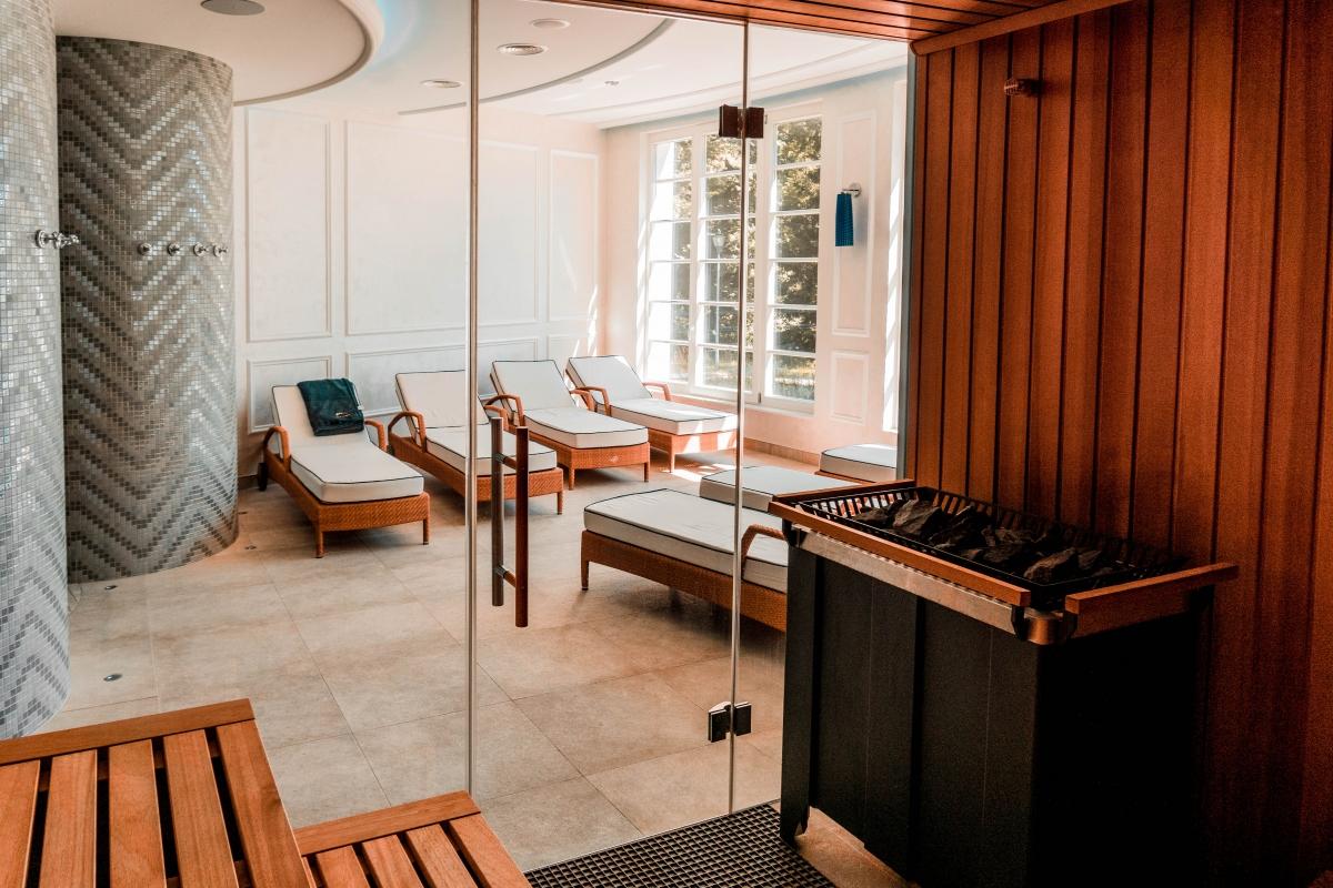 Wellness svet a sauny v Šimák hoteli v Pezinku