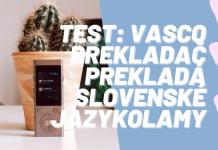 VASCO Mini 2 recenzia elektronického prekladača podľa Milana Bez Mapy