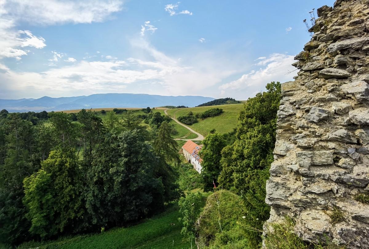 Výhľady z hradu