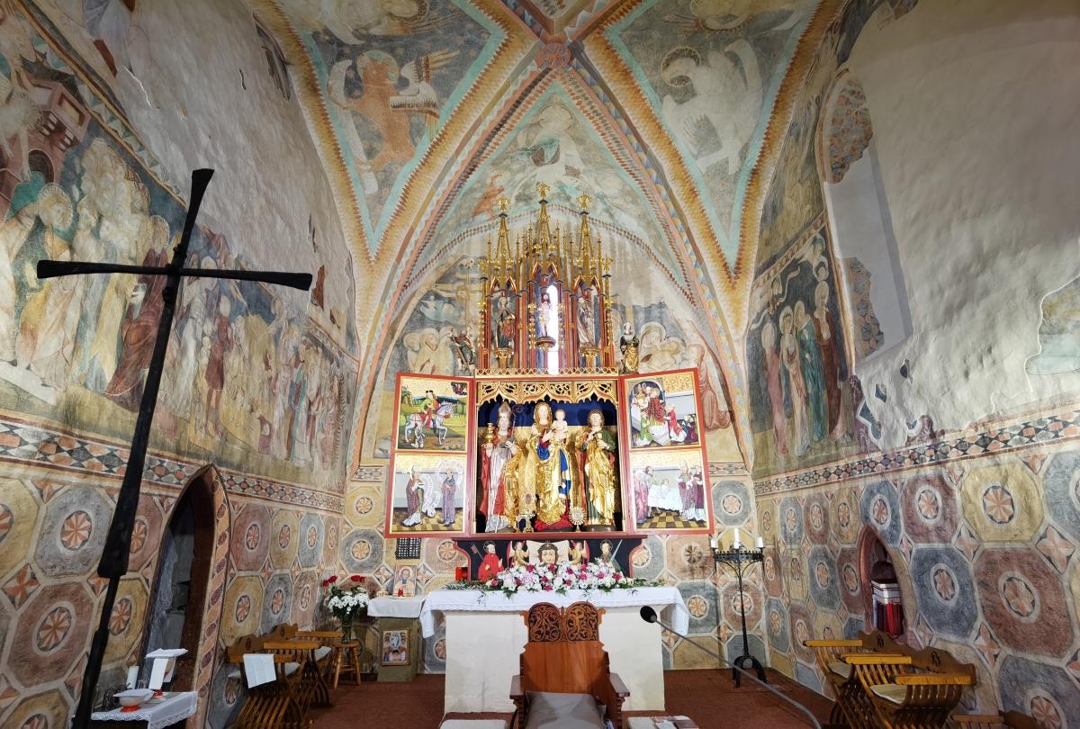 Gotické kostoly v okolí Banskej Bystrice