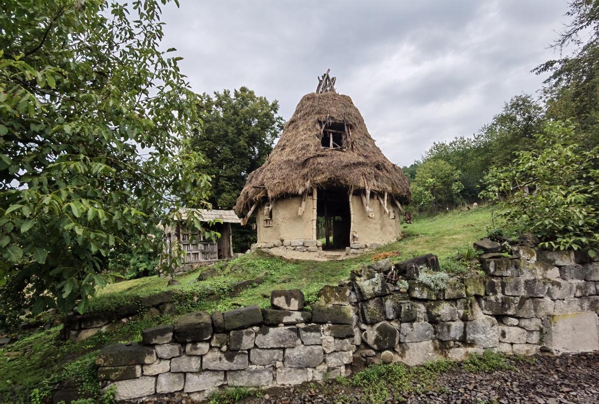 Keltský príbytok v Lišove