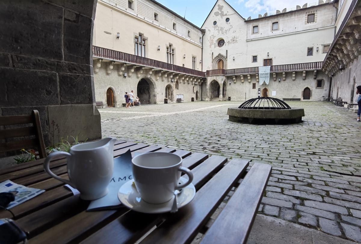 Zámocká kaviareň na Zvolenskom zámku