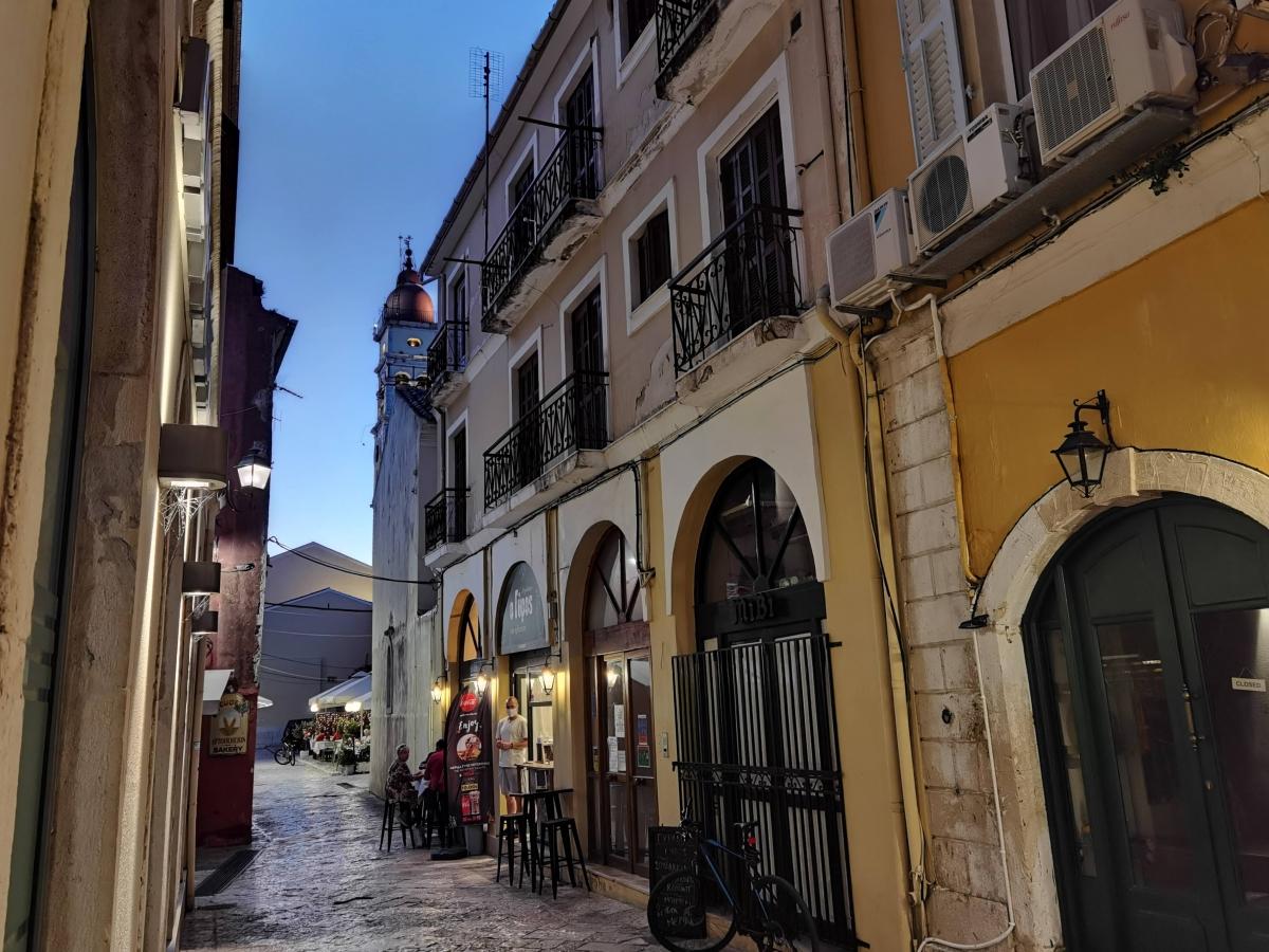 Ulice mesta Kerkya