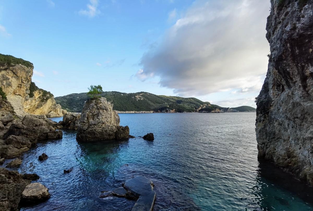Výhľad z reštaurácie La Grotta