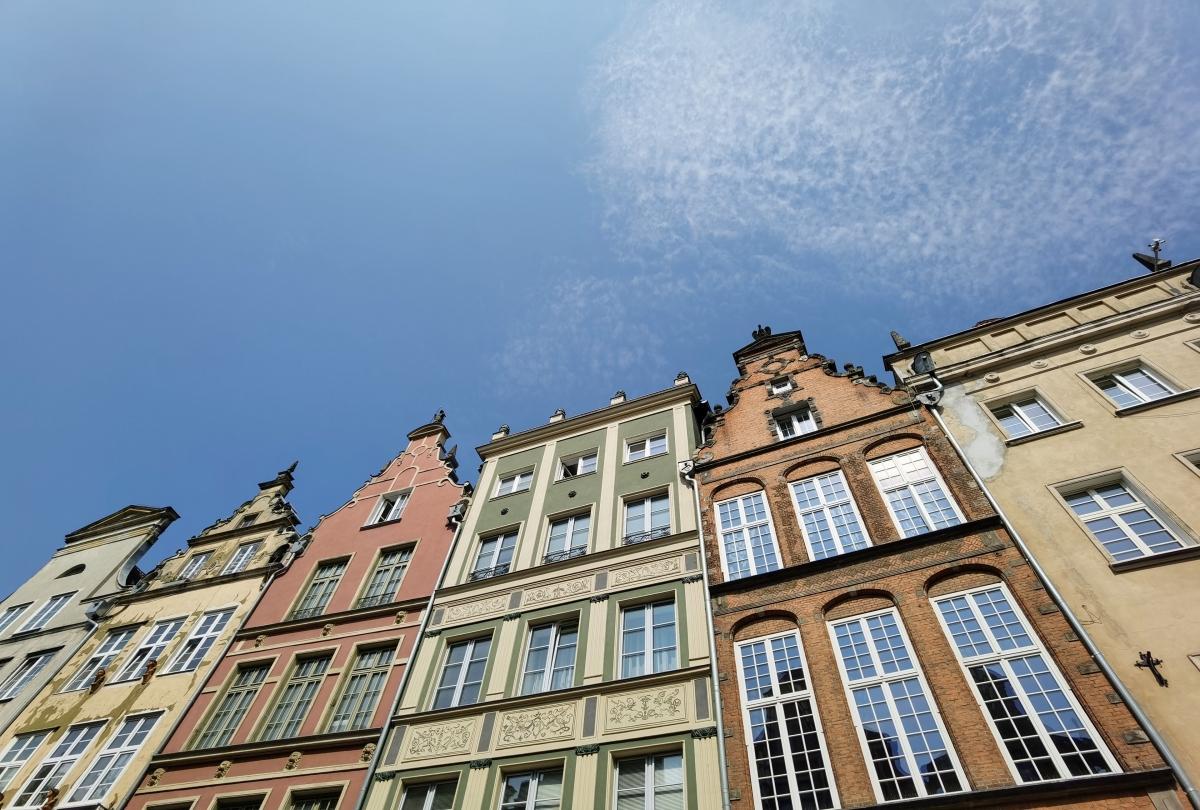 Centrum Gdansku, foto: Huawei P40 Pro.