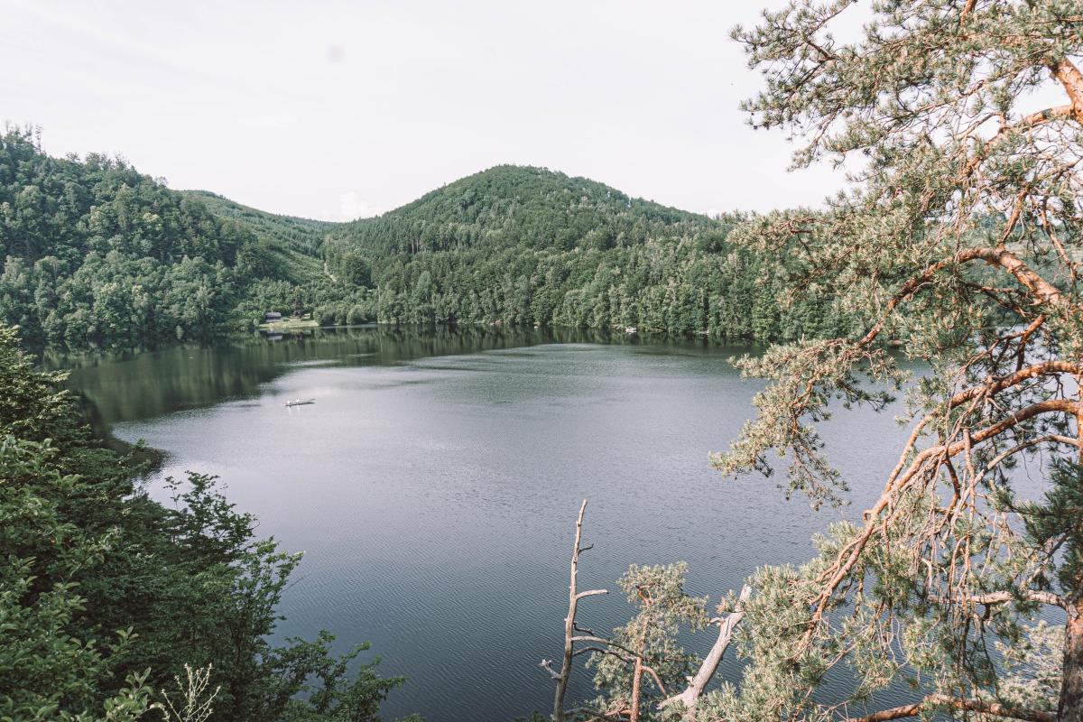 Jazero Dobra.