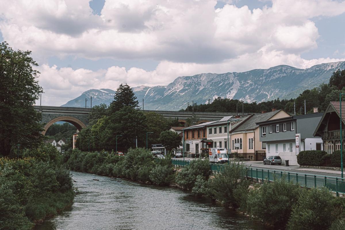 Viedenské Alpy.