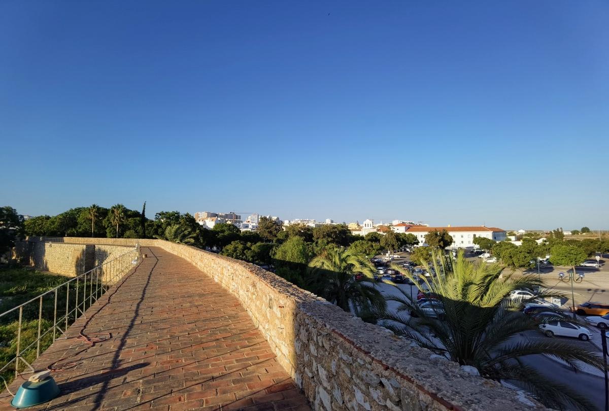 Hradby starého mesta Cidade Velha z Faro