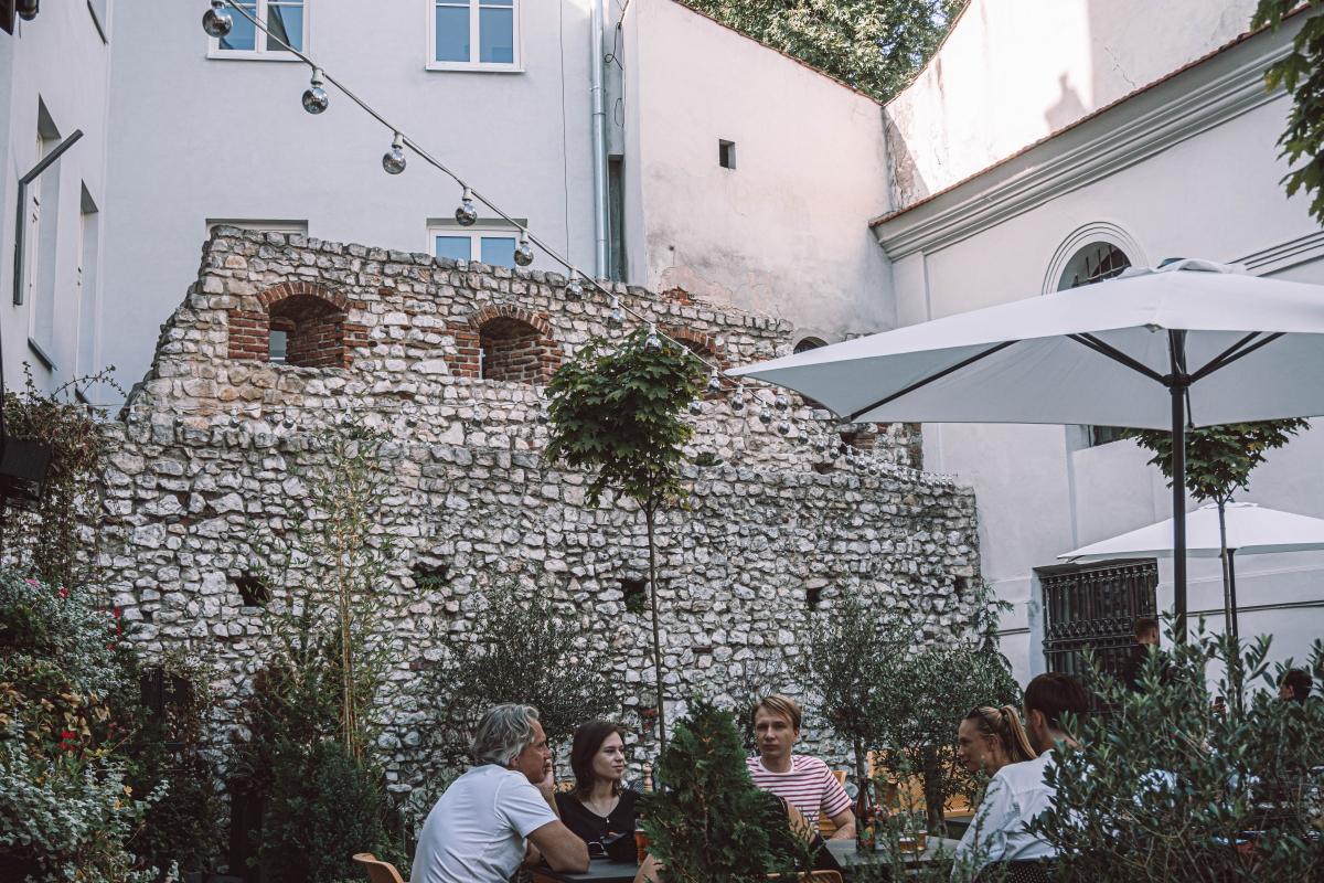 Pôvodné opevnenie Kazimierza.