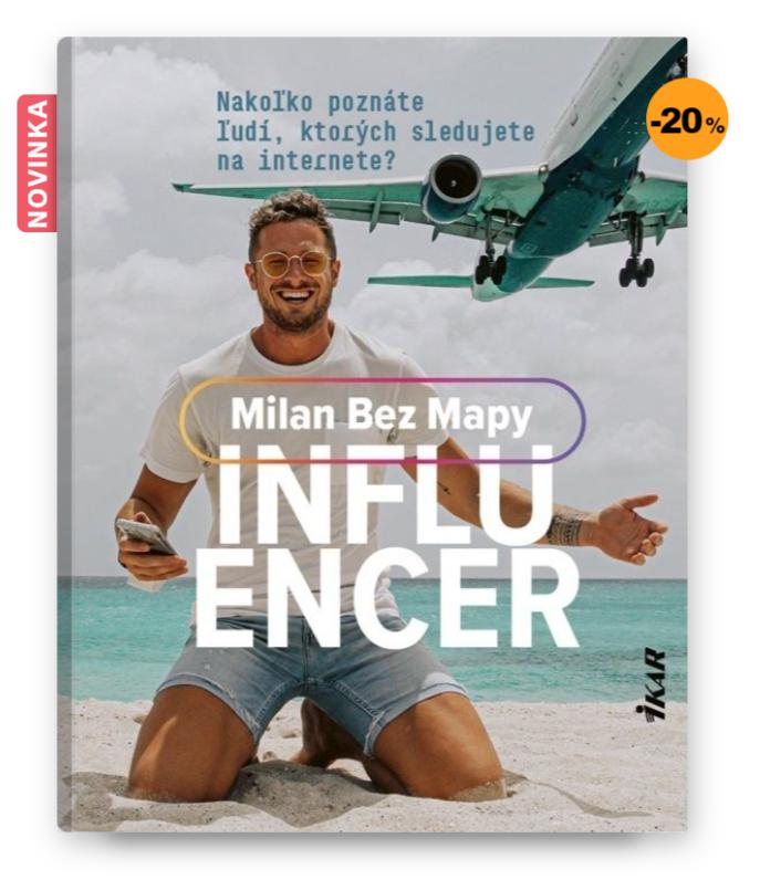 Kniha Influencer, Milan Bez Mapy