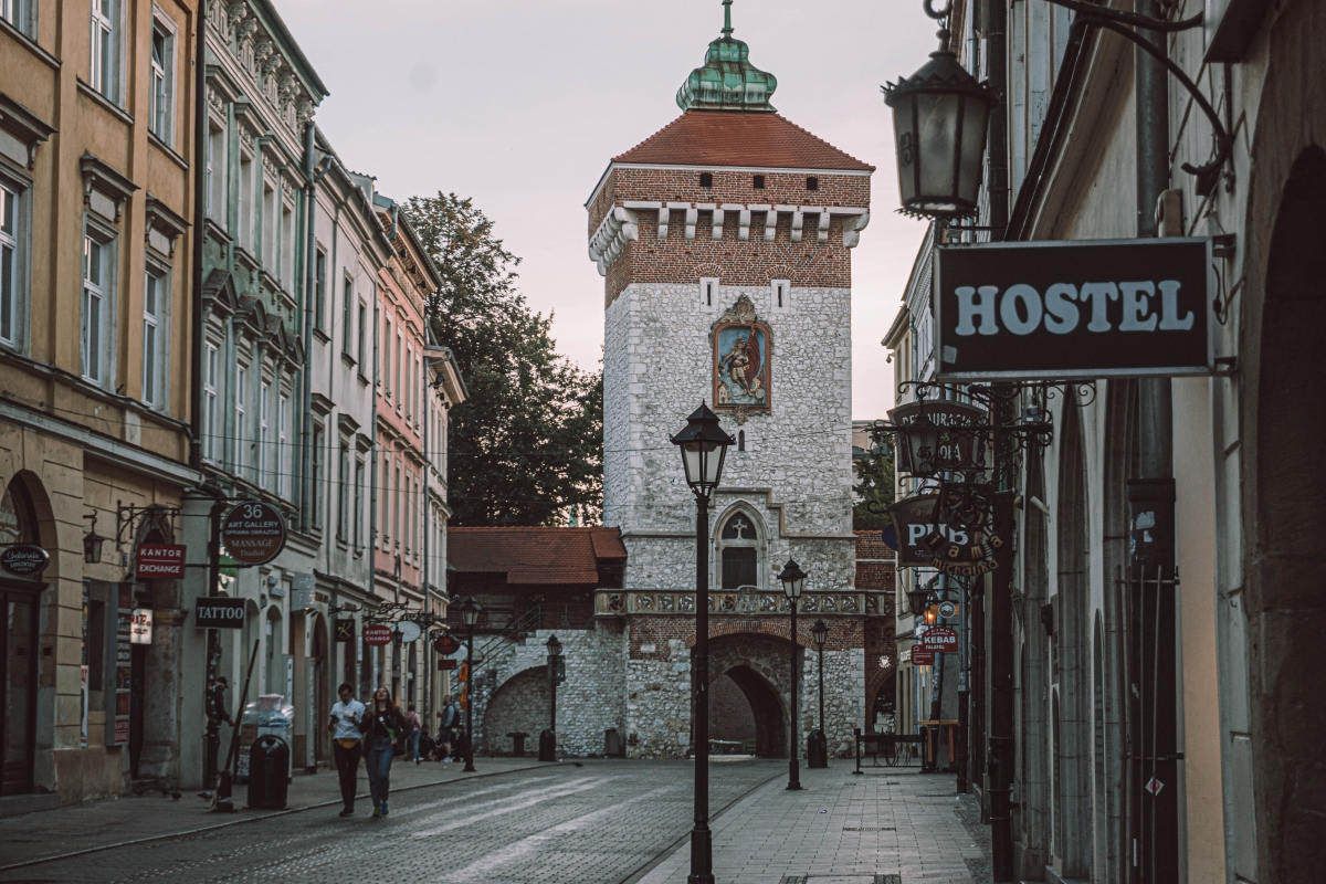 Vstupná brána do Krakova