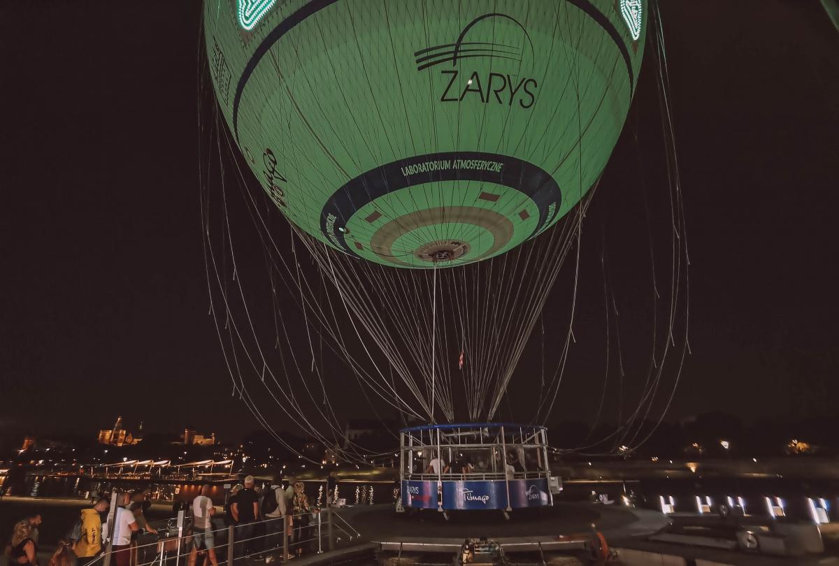 Výlet balónom Krakov
