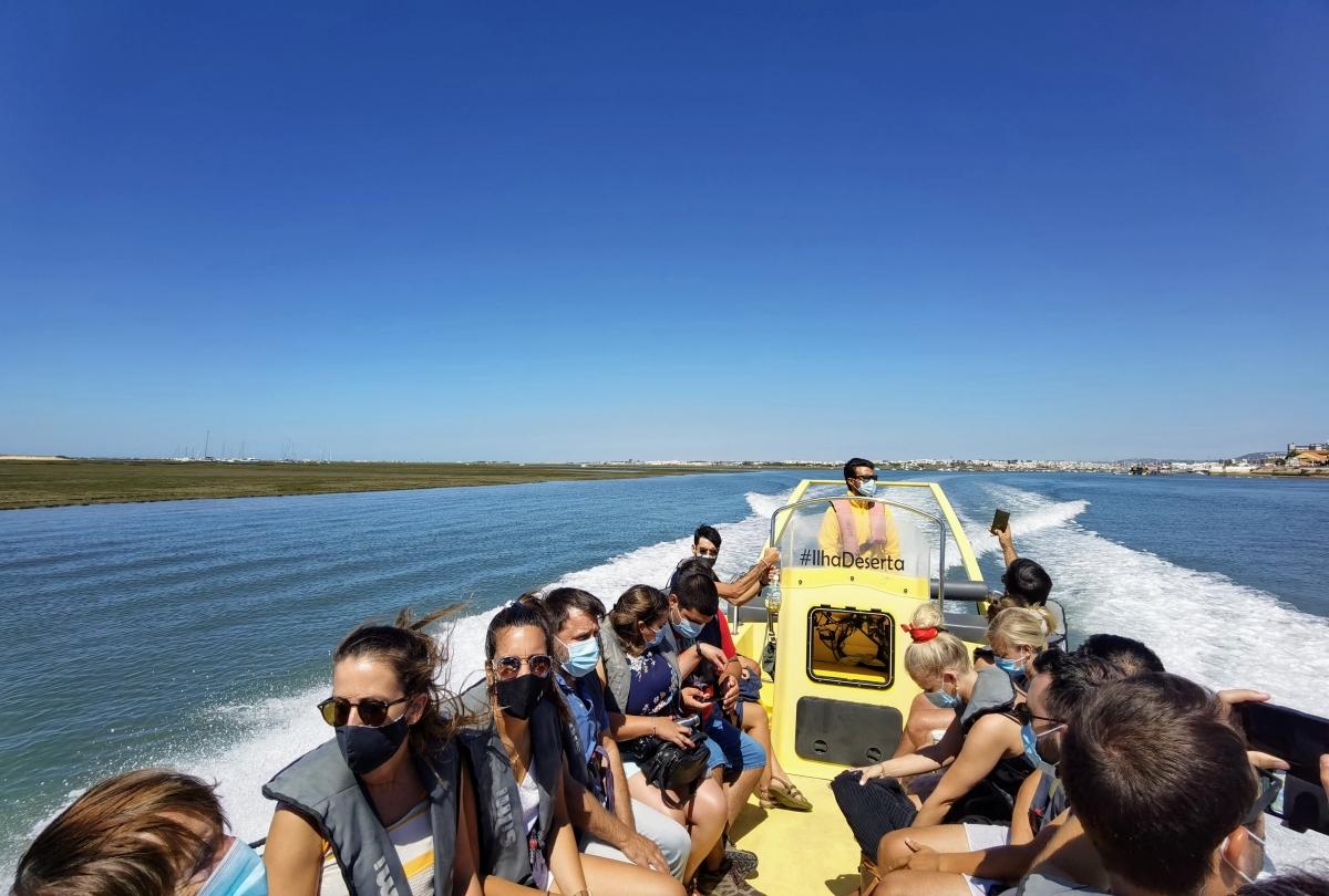 Celodenný výlet do prírodnej rezervácie Ria Formosa z Fara a najkrajšie pláže