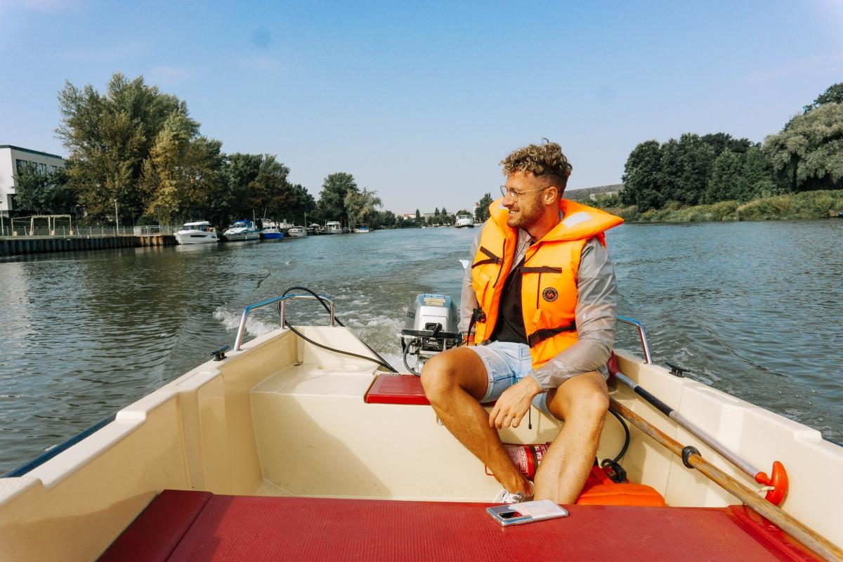 Plavba po rieke Odra vo Vroclave